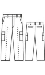 CP.732U UltraSoft Unlined Cargo Pants