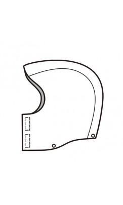 G8.22 Amplitude Snap-On Hood With Chin Cover