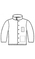 GM.2410 Melton Unlined Welder's Jacket