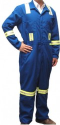 GT.123 Economic Style Nomex IIIA Unlined Coverall with Stripes