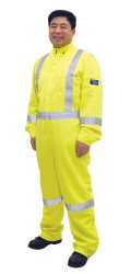GT.5858 TecaSafe Plus 7oz. Permanent Fire & Arc Resistant Unlined Coverall