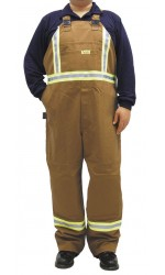 GT.710 88/12 Fire & Arc Resistant Canvas Unlined Bib Overalls
