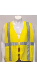 GV.2006 Hi Vis Safety Vest with 3M sew on Tape (Qty 100+ 30% Off)