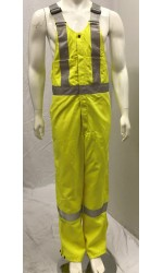 GT.7758 TecaSafe Plus 7 oz. Unlined Bib Overall with Stripes