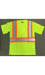 S38211 Hi Visibility Mesh Short Sleeve T-Shirt