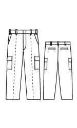 CP.732 Amplitude Unlined Cargo Pants
