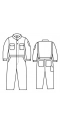 G1.7012 TecaSafe Plus Unlined Coverall