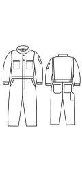 G2.555 Kermel Vapro-Lite Unlined Coverall