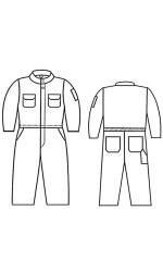 G2.785 Kermel Kid's Unlined Coverall