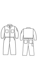 G2.786 65/35 Poly/Cotton Kid's Unlined Coverall