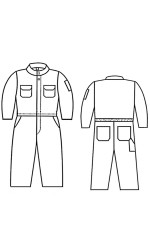 G2.789 Nomex IIIA Kid's Unlined Coverall