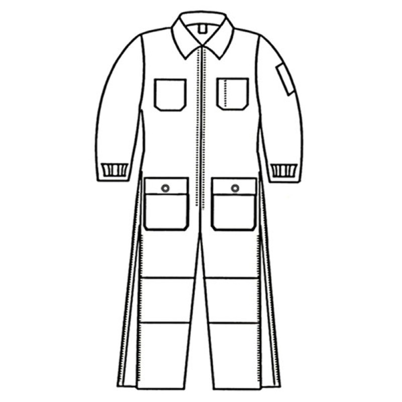G5 7478p Banox Certified Insulated Coverall