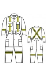 G7.7273 UltraSoft Wildland Fire Suit