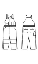 GB.709N Nomex IIIA Insulated Bib Overall
