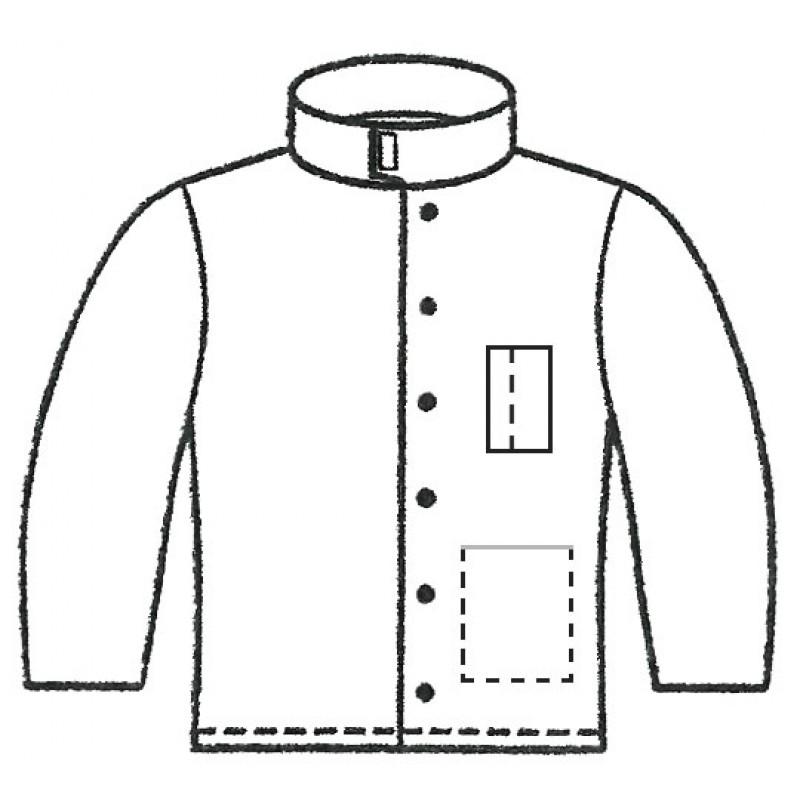 Gm 2410 Melton Unlined Welder S Jacket
