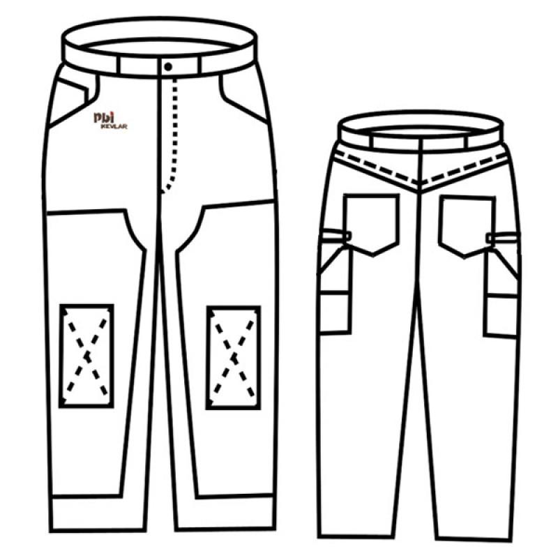 Gp 333 Pbi Kevlar Unlined Pants