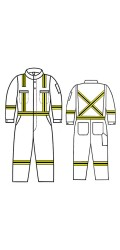 GT.555 Kermel Vapro-Lite Unlined Coverall