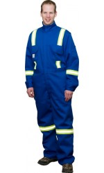 GT.717U UltraSoft Permanent FR Unlined Coverall with Stripes