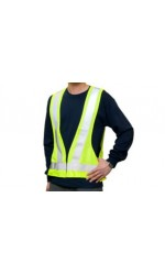 GV.2626 100% Polyester High Visibility Highway Traffic Vest