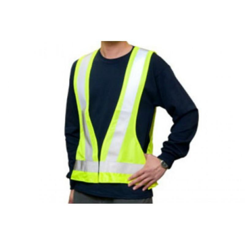 GV 2626 100% Polyester High Visibility Highway Traffic Vest
