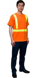 T.ORG.S 100% Cotton Short Sleeves Safety T-Shirt