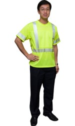 TS.616 Short Sleeve Safety Mesh T-Shirt