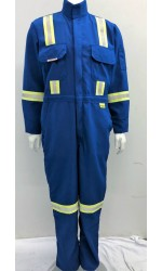 GT.797 Nomex IIIA Unlined Coverall with Stripes