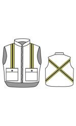 GT.2225 Kermel Insulated Vest