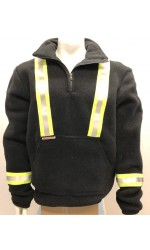 GT.4499 Nomex Fleece Half Zippered Pullover