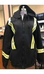 GT.818 Fire Resistant 80/20 Cotton/Poly One-sided Fleece Full Zipper Jacket