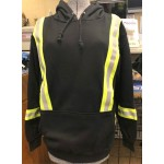 GT.414 Fire Resistant 80/20 Cotton/Poly One-sided Fleece Hooded Pullover