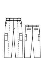 CP.735 Kermel Unlined Cargo Pants