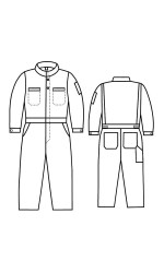 G2.999 Nomex IIIA Vapro-Lite Unlined Coverall