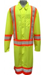 G6.8426 100% Polyester High Visibility Highway Traffic Smock
