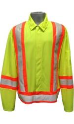 GJ.2326 100% Polyester High Visibility Highway Traffic Jacket