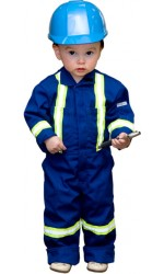 GT.786 65/35 Poly/Cotton Kid's Unlined Coverall