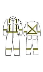 GT.999 Nomex IIIA Vapro-Lite Unlined Coverall