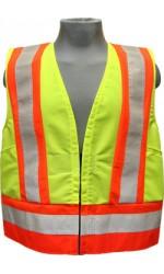 GV.2266 100% Polyester High Visibility Highway Traffic Safety Vest