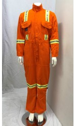 GT.716U UltraSoft Permanent FR Unlined Coverall with Stripes