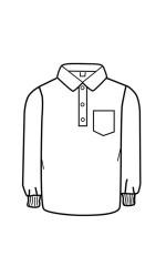 MC.G12 FR Modacrylic Cotton Long Sleeve Golf Shirt