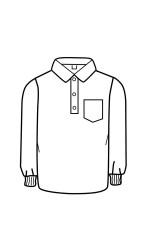 NM.G19 Nomex Jersey Long Sleeve Golf Shirt