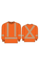 T.ORG.L 100% Cotton Long Sleeves Safety T-Shirt