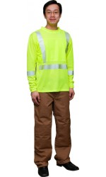 TS.666 Long Sleeve Safety Mesh T-Shirt