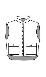 VT.2221 88/12 Cotton/Nylon FR Insulated Vest